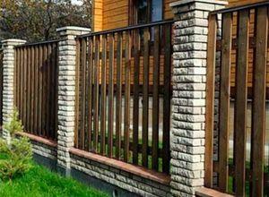 Забор для дачи в СПб под ключ