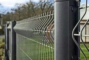 Забор для дачи из сетки Гиттер в СПб и Ленобласти