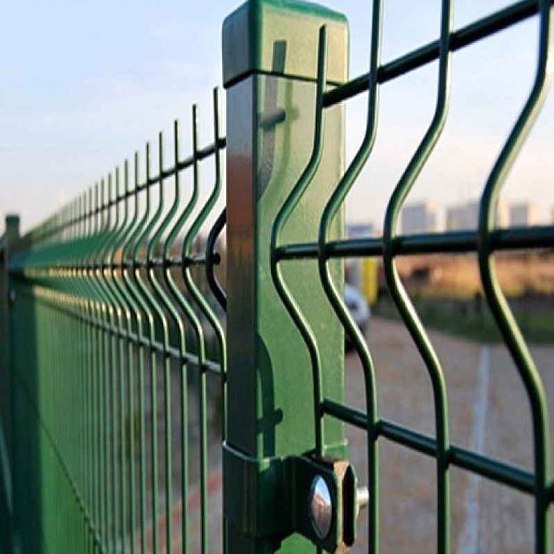 Забор для дачи из сетки Гиттер в СПб